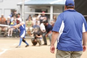 coaching softball