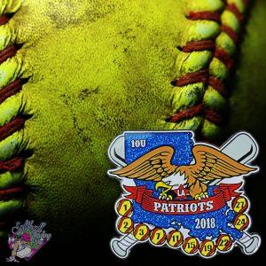 Patriots Softball Pin